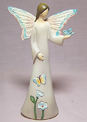 Joy Butterfly Angel Figurine