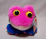 Candy Pink Frog Keychain