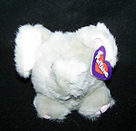Elly Elephant Puffkin W/Purple Tag
