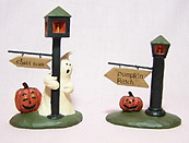 Halloweem Street Lamps