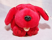 Rupert Red Dog Puffkin