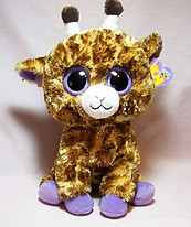 Safari the Giraffe Large Beanie Boo