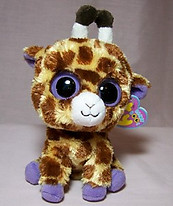 Safari the Giraffe Small Beanie Boo