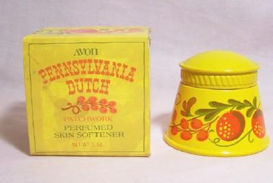 Avon Pennsylvania Dutch  Perfumed Skin Softener