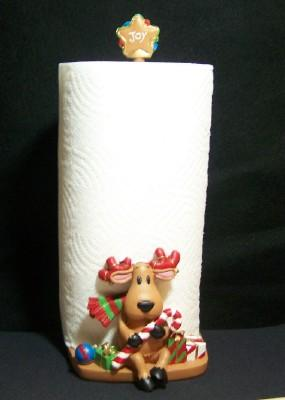 Reindeer Paper Towel Holder