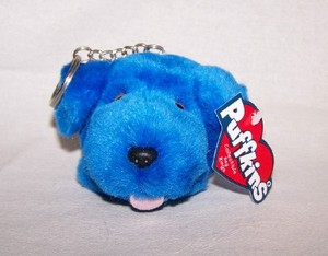 Buster The Blue Dog Keychain