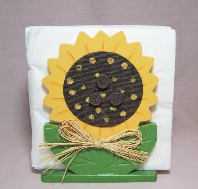Sunflower Napkin Holder
