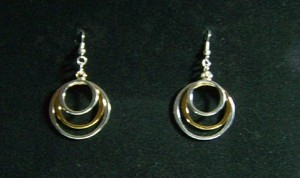 3 Ring Earrings