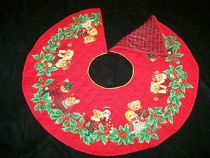 Raggedy Ann & Andy Tree Skirt