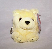 Daisy The Yellow Bear Keychain