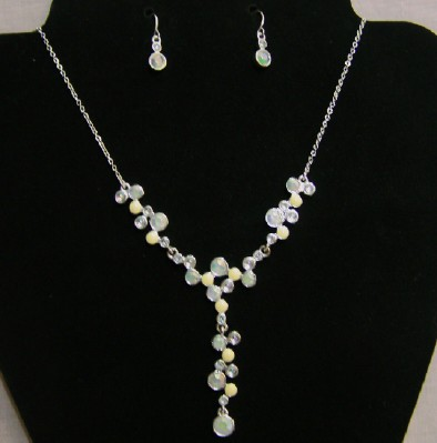 Pastel Bubble Necklace Set