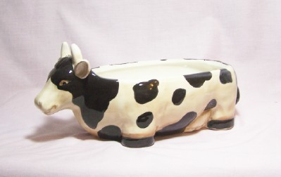 Cow Serving Bowl