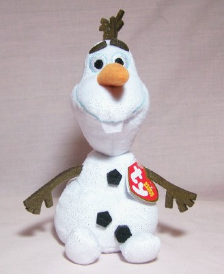 Olaf the Snowman Original Beanie Babie