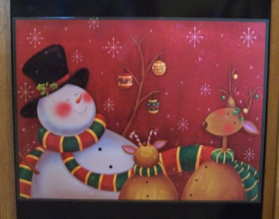 Happy Holidays Dishwasher Magnet