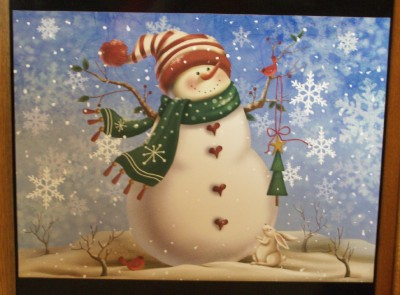 Snowman Dishwasher Magnet