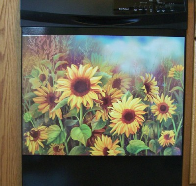 Sunflower Dishwasher Magnet