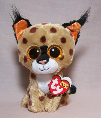Buckwheat Brown Lynx Small Beanie Boo