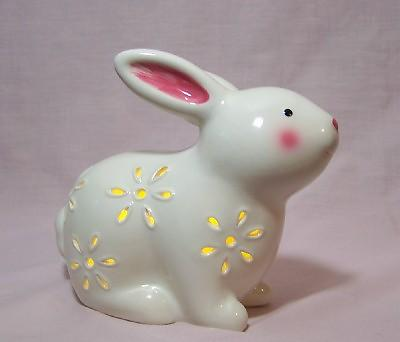 Ceramic Lighted Bunny