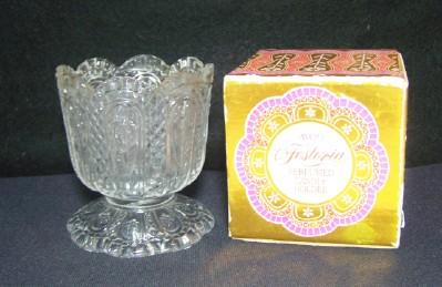 Avon Fostoria Candle Holder