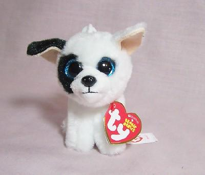 Marcel the dog Beanie Baby Keyclip