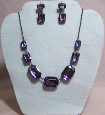 Violet Necklace Gift Set