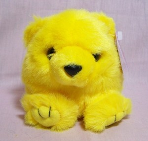 Buttercup Yellow Bear Puffkin