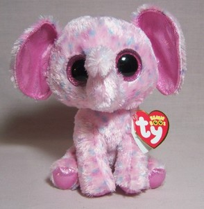 Ellie the Elephant Small Beanie Boo