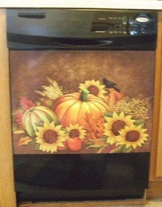 Harvest Dishwasher Magnet