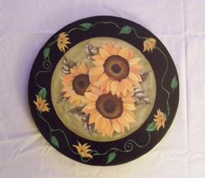 Sunflower Lazy Susan
