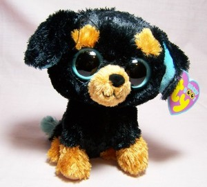 3df6315e4e6 Tuffy Dog Small Beanie Boo-Retired at KSM Creations n Gifts
