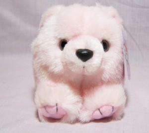 Blush Pink Bear Puffkin