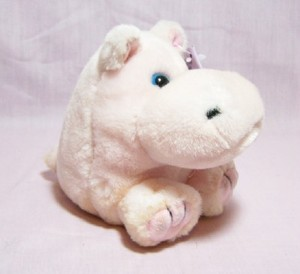 Bubbles Pink Hippo Puffkin