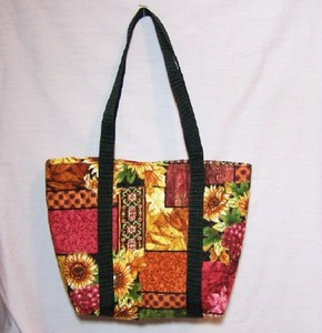 Quilted Fall Tote