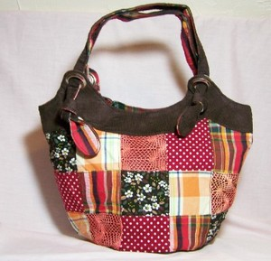 Patchwork Shoulder Bag