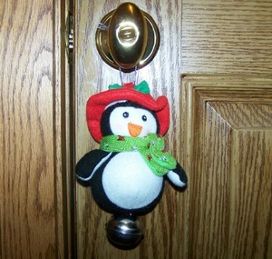 Penguin Patty Door Jingler
