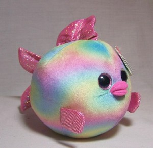 Rainbow the Fish Small Beanie Ballz