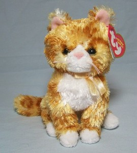 Romeo the Orange Cat Beanie Babie
