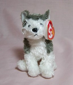 Slush the Husky Keyclip