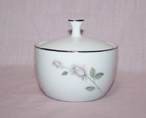 Kenmark China Boutique sugar bowl