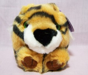 Tipper Tiger Puffkin W/Purple Tag