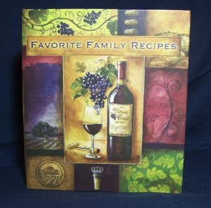 Valley Wine Recipe Keeper