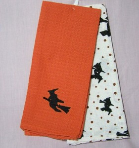 Witch Waffleweave Kitchen Towels